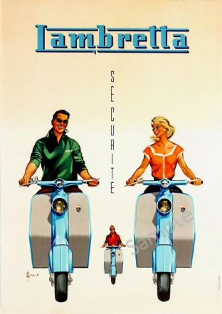Lambretta Scooter Moped Sales Advert
